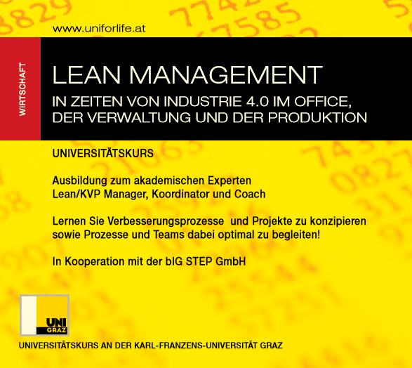 universitaetskurs lean management